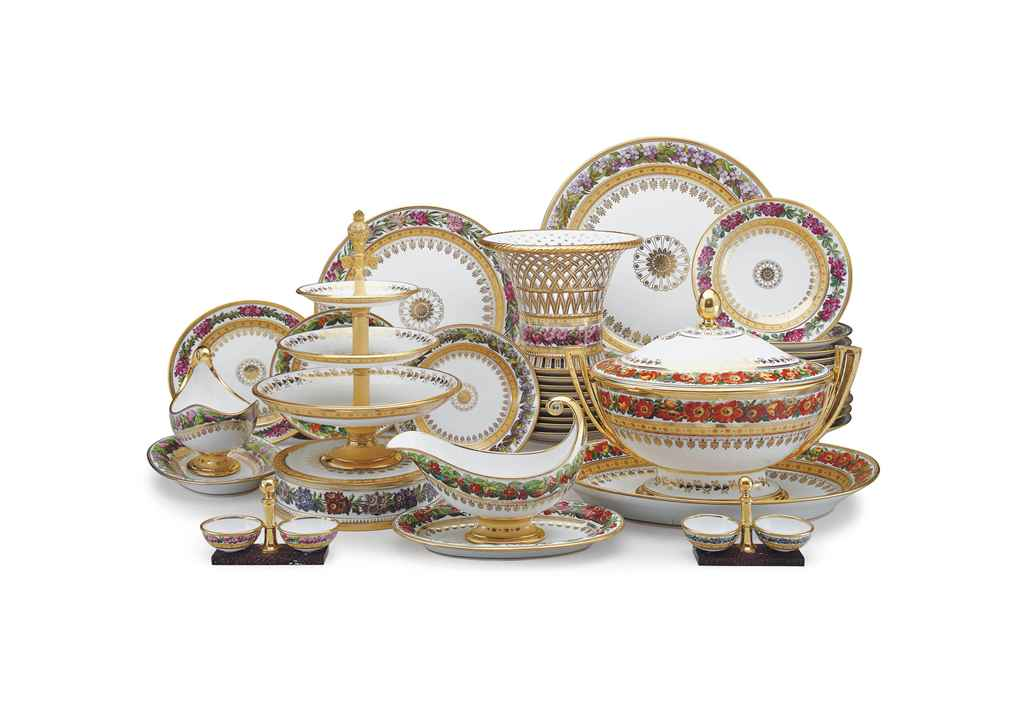 A SEVRES (HARD PASTE) PORCELAI