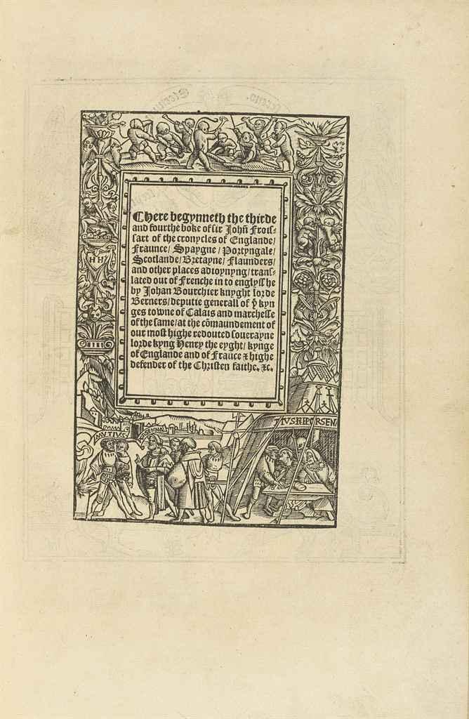 FROISSART, Jean (c. 1333-c. 14
