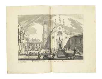 LOVISA, Domenico (ca. 1690-ca. 1750). Il Gran Teatro delle piú insigni prospettive di Venezia. [Venice: by the author in Rialto, ca. 1709].