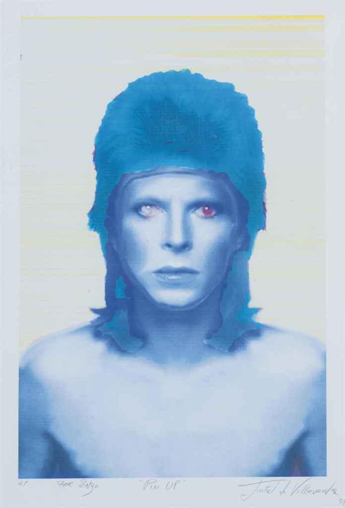 David Bowie Justin de Villeneu