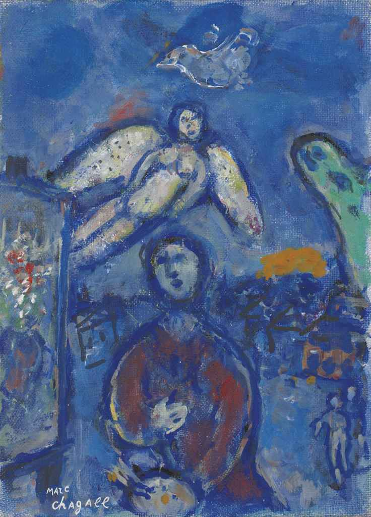 Marc chagall 1887 1985 le peintre l 39 ange blanc for Chagall peintre
