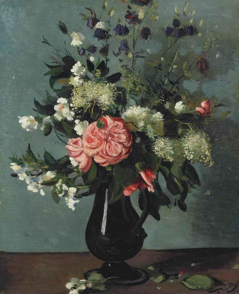 Andr 233 derain 1880 1954 fleurs des champs dans un pichet