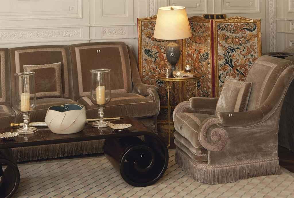 Mobilier De Salon Par Henri Samuel D 39 Apres Le Modele De La Chambre De Monsieur A Versailles