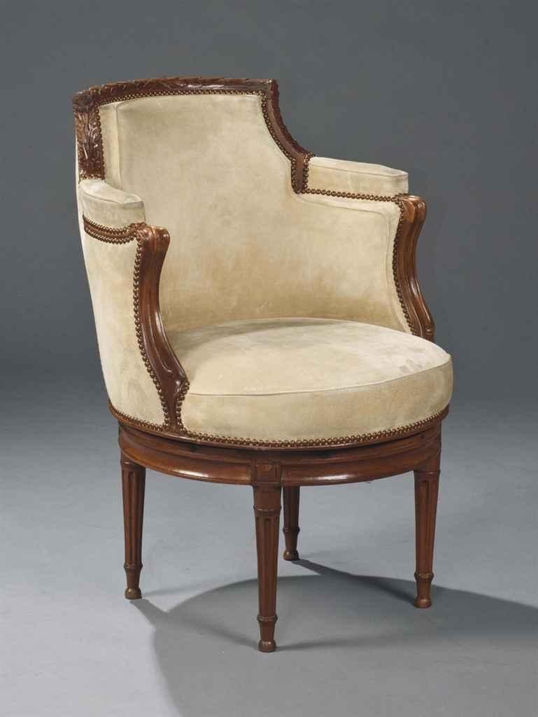 fauteuil de bureau de style transition comprenant des elements anciens christie 39 s. Black Bedroom Furniture Sets. Home Design Ideas