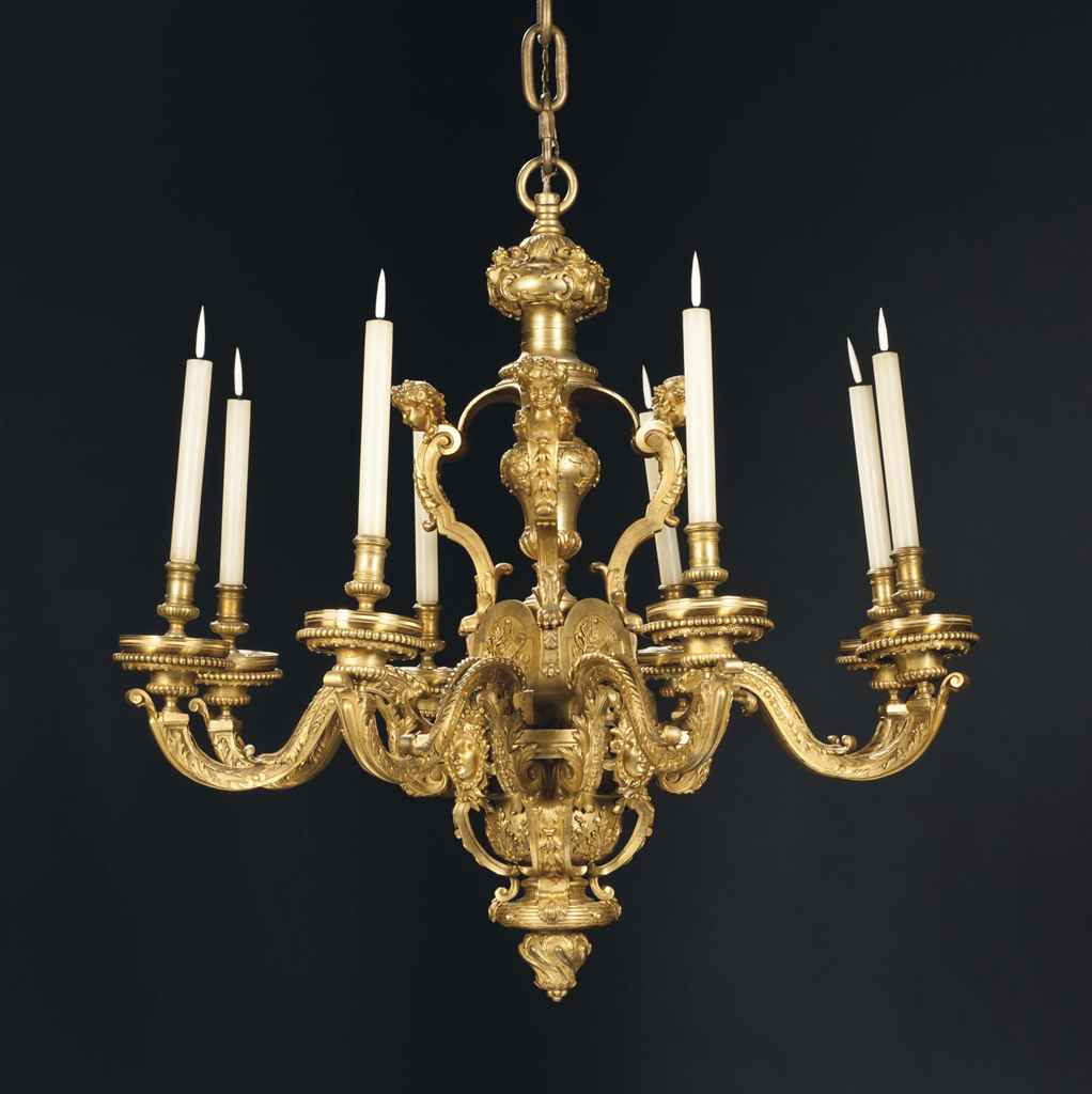 lustre de style louis xiv xixeme siecle d 39 apres un modele d 39 andre charles boulle christie 39 s. Black Bedroom Furniture Sets. Home Design Ideas