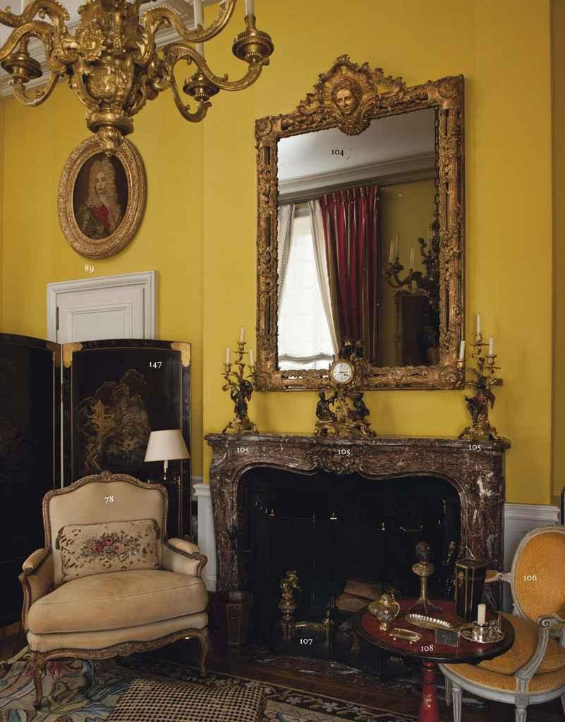Miroir d 39 epoque napoleon iii seconde moitie du xixeme for Miroir napoleon