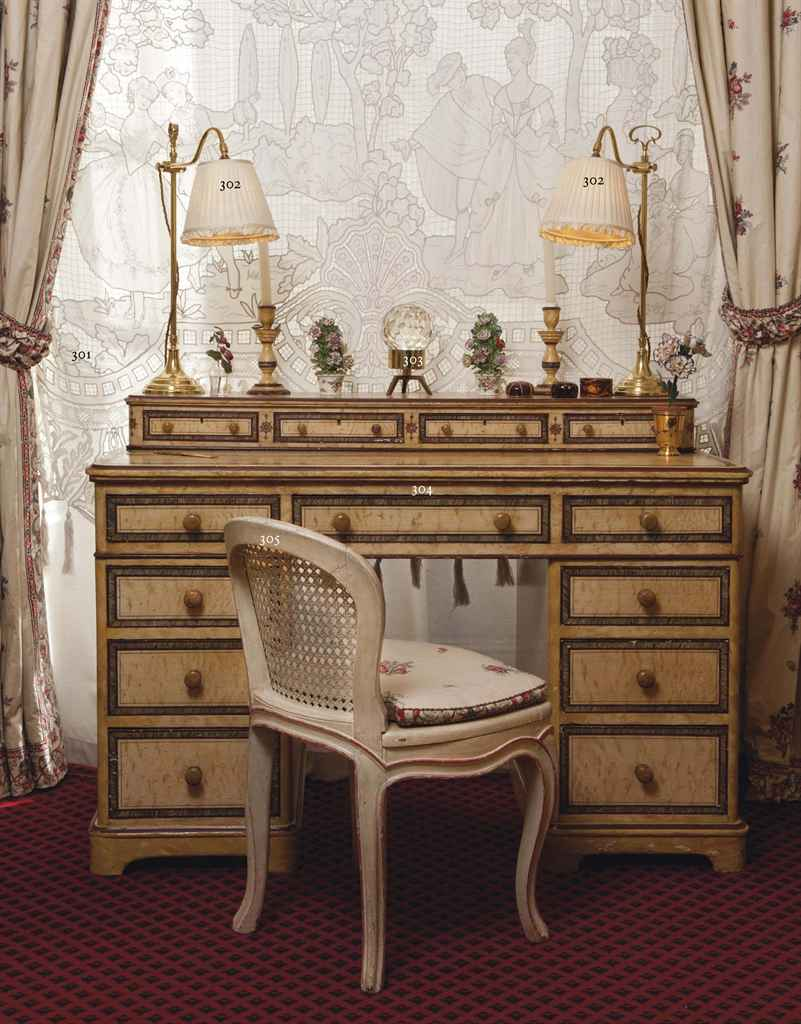 paire de double rideaux en coton et voilage de dentelle. Black Bedroom Furniture Sets. Home Design Ideas