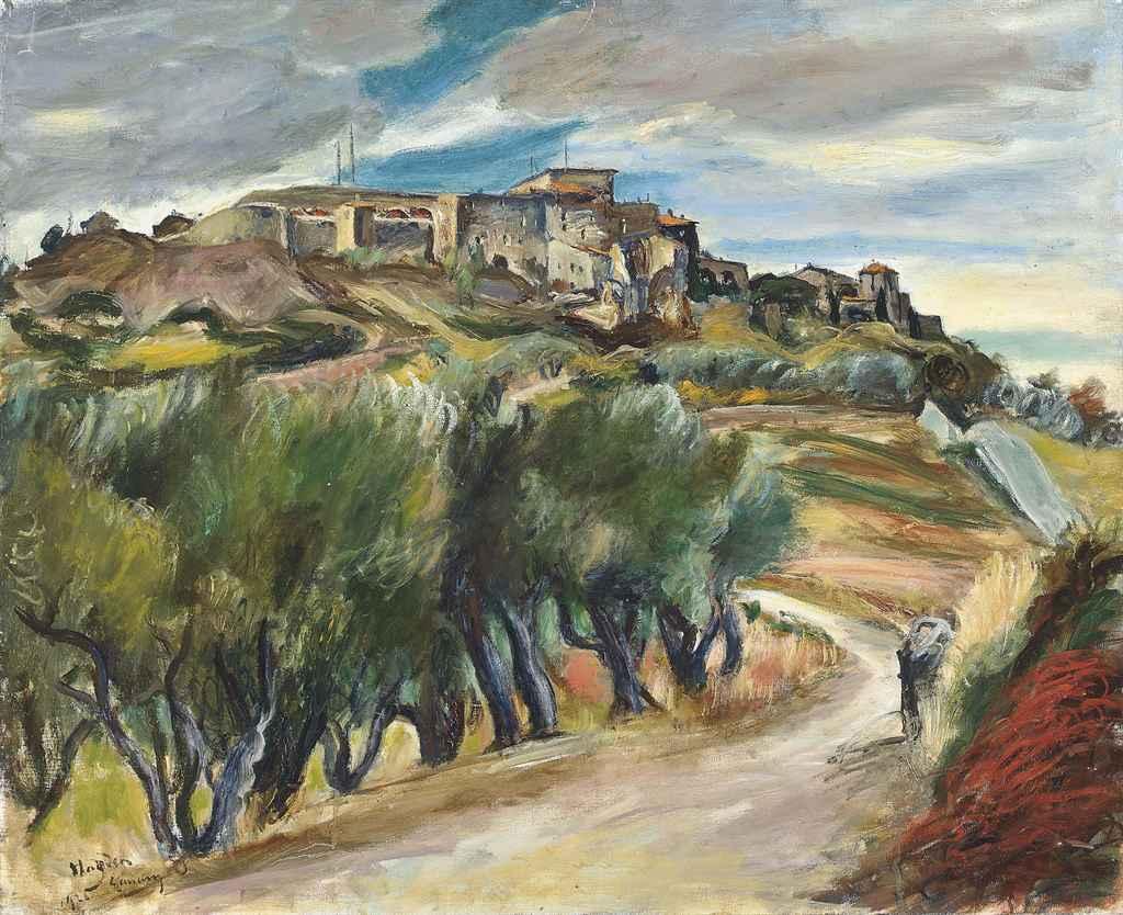 Henri hayden 1883 1970 paysage de ville christie 39 s for Paysage de ville