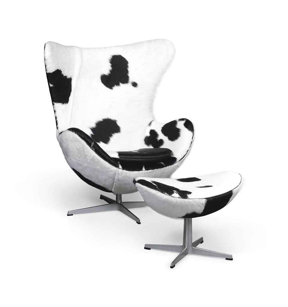 Arne jacobsen egg chair white - An Arne Jacobsen Egg Chair And