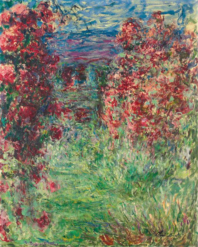 claude monet 1840 1926 la maison dans les roses christie 39 s. Black Bedroom Furniture Sets. Home Design Ideas