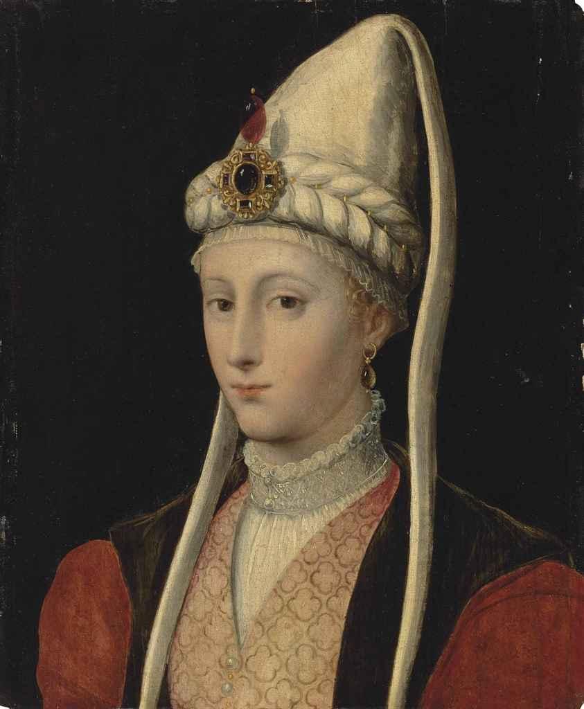 Follower of Tiziano Vecellio, called Titian , Portrait of ...