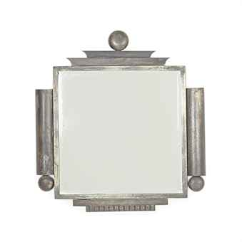 AN AUSTRIAN ART DECO IRON MIRROR, | CIRCA 1930 | Interiors Auction ...