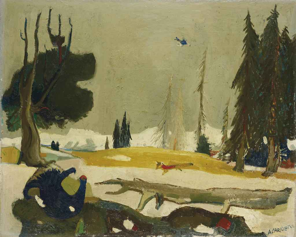 ALOIS CARIGIET (1902-1985)