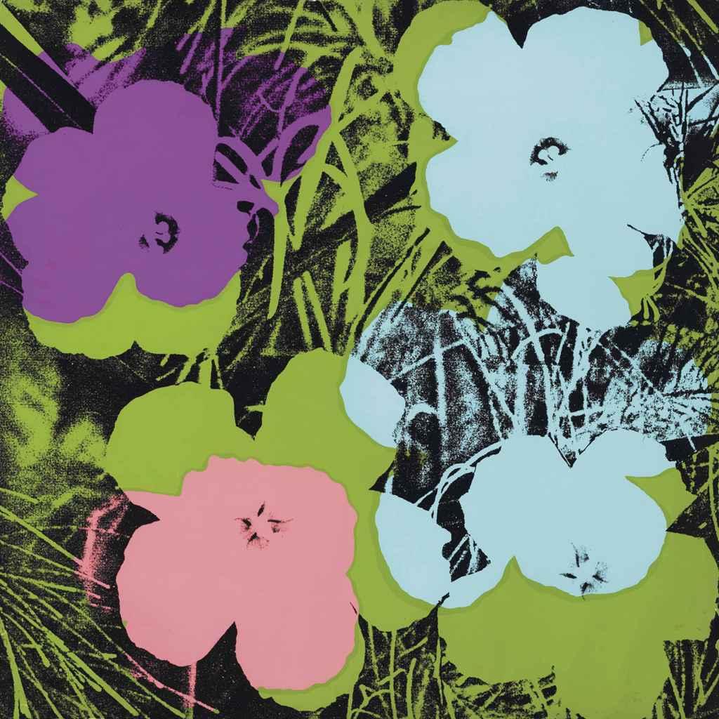 Andy Warhol Flowers Print - Flowers Ideas