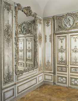 A LOUIS XV PARCEL-GILT AND CREAM-PAINTED PANELLED ROOM | CIRCA
