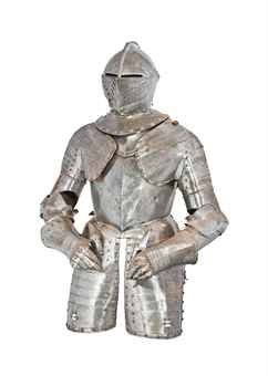 A COMPOSITE CUIRASSIER THREE-QUARTER ARMOUR