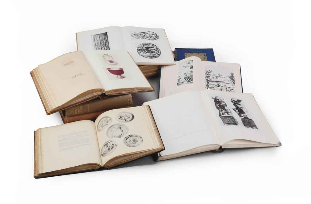 A COLLECTION OF FIFTEEN ORIENTAL ART BOOKS AND CATALOGUES