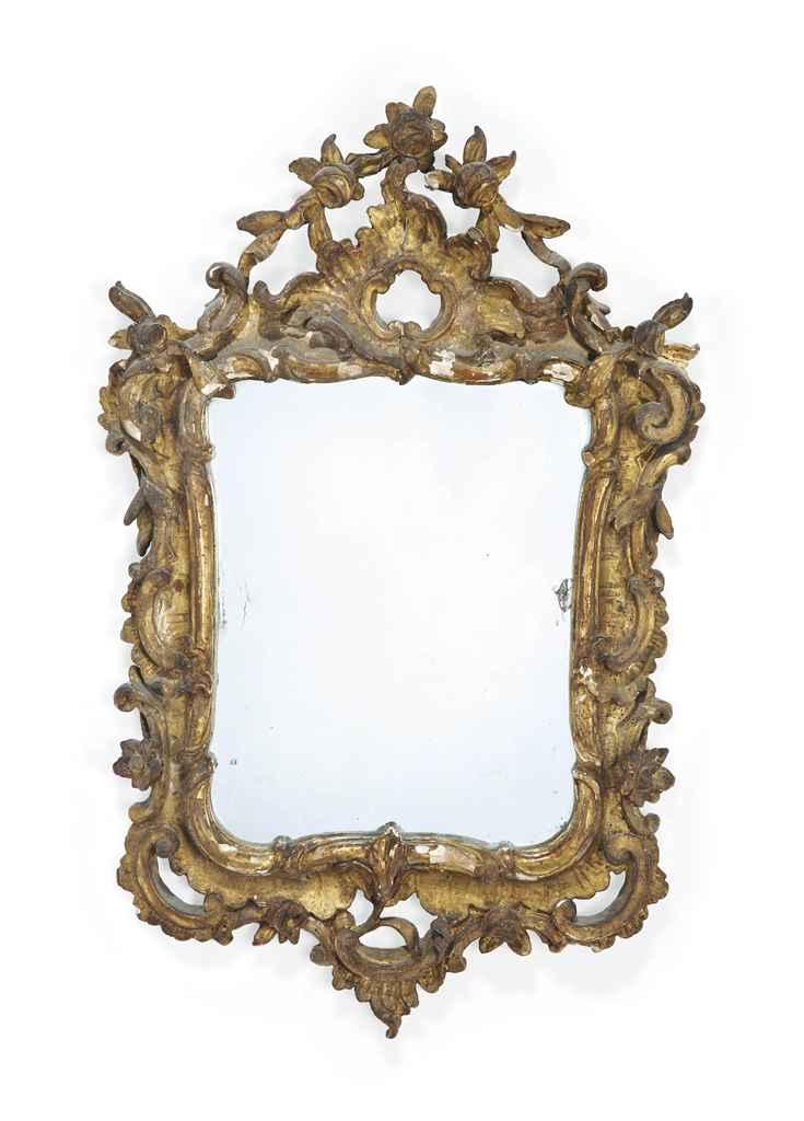 miroir d 39 epoque louis xv milieu du xviiieme siecle christie 39 s. Black Bedroom Furniture Sets. Home Design Ideas