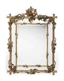 Miroir a parecloses d 39 epoque napoleon iii seconde moitie for Miroir napoleon