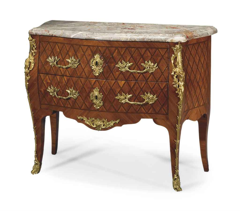 commode de style louis xv xixeme siecle christie 39 s. Black Bedroom Furniture Sets. Home Design Ideas