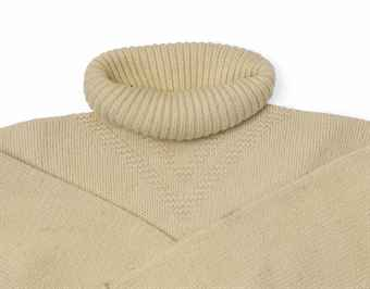 Shackleton's white polo neck Jersey