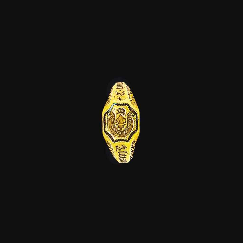 A 15th century Burgundian gold