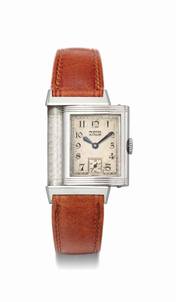 LeCoultre. A stainless steel R