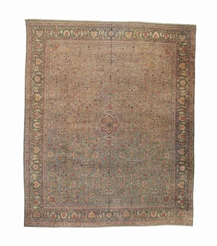An unusual Indian carpet