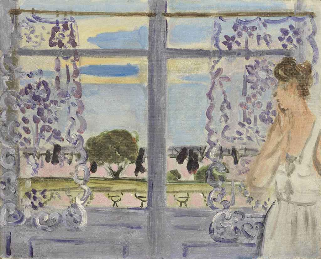Henri matisse 1869 1954 femme aupr s de la fen tre for Fenetre in english