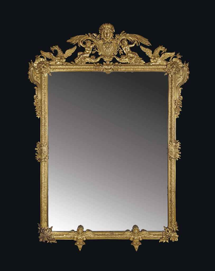 miroir d 39 epoque louis xvi attribue a gambier dernier quart du xviiieme siecle christie 39 s. Black Bedroom Furniture Sets. Home Design Ideas