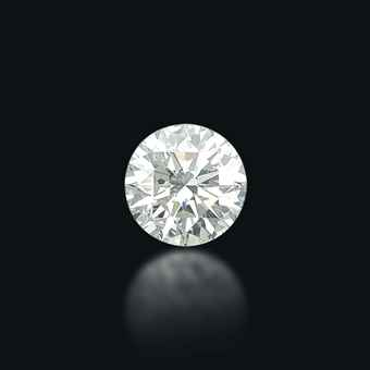 A STUNNING UNMOUNTED DIAMOND