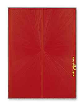 Untitled (Red Butterfly II Yellow MARK GROTJAHN P-08 752)