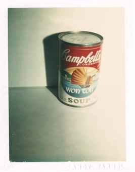 Campbell's Soup Can (Wonton soup), c. 1981