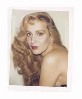 Jerry Hall, c. 1984