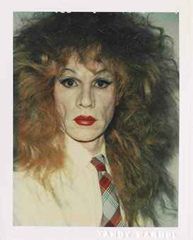 Self-Portrait in Drag, 1981-1982