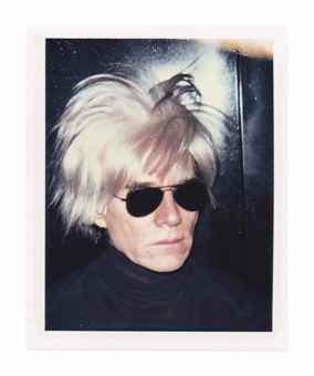 self-portrait in fright wig, 1986