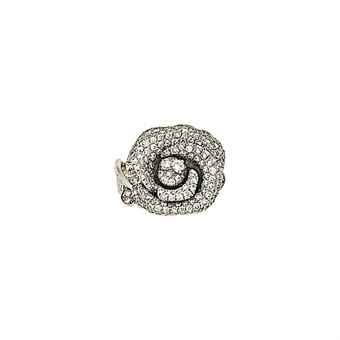 A diamond 'Rose' ring, by Christian Dior