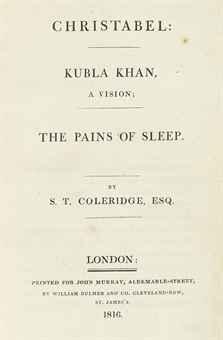 Kubla khan and london