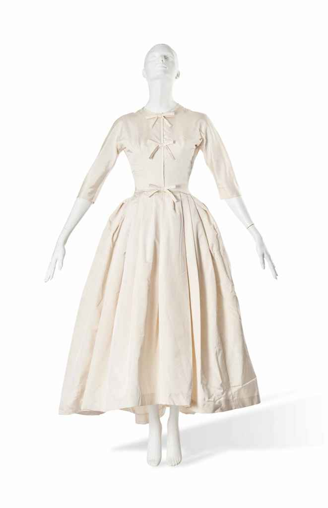 a christian dior wedding dress 1950s christie 39 s