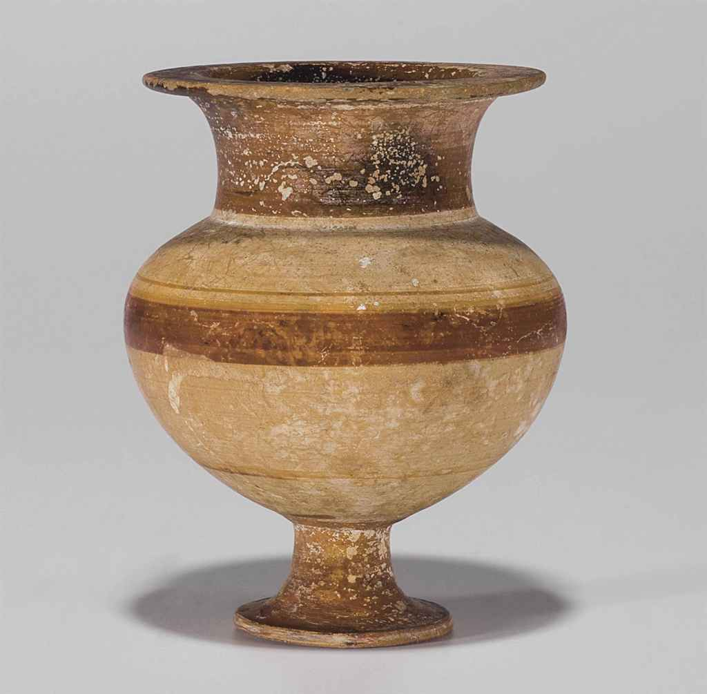 AN EAST GREEK POTTERY LYDION