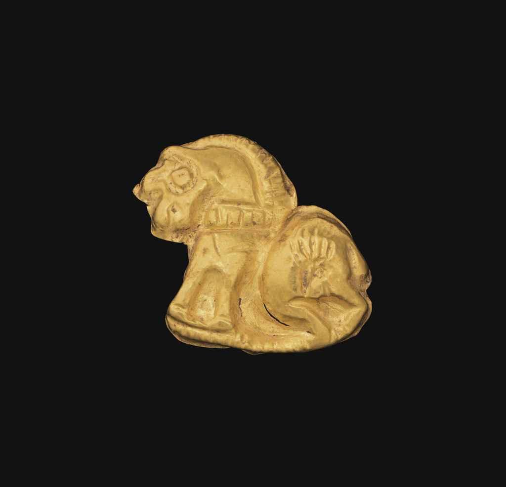 A SCYTHIAN GOLD APPLIQUÉ