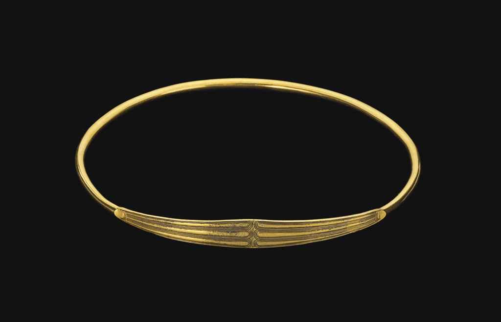A SCYTHIAN GOLD TORQUE