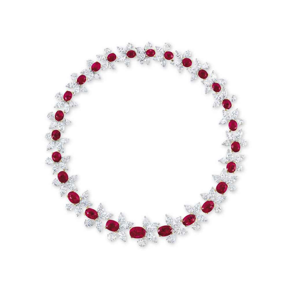 A SUPERB RUBY AND DIAMOND 'RED