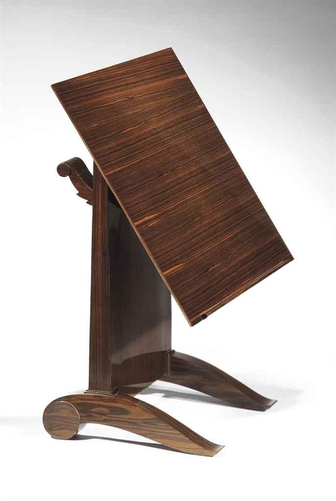 mile jacques ruhlmann 1879 1933 table liseuse 39 cla cla 39 vers 1926 christie 39 s. Black Bedroom Furniture Sets. Home Design Ideas