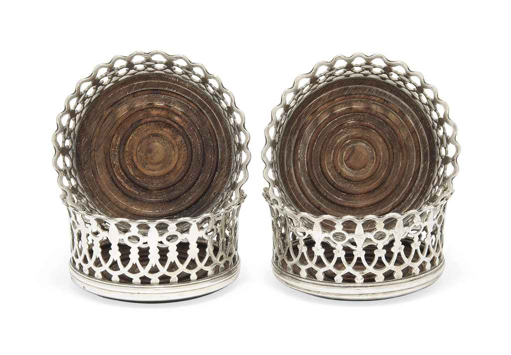 A MATCHED SET OF FOUR SILVER W