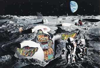 Future Moon Colony, 1968