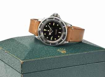 Rolex. A Fine Stainless Steel Automatic Wristwatch with Center Seconds