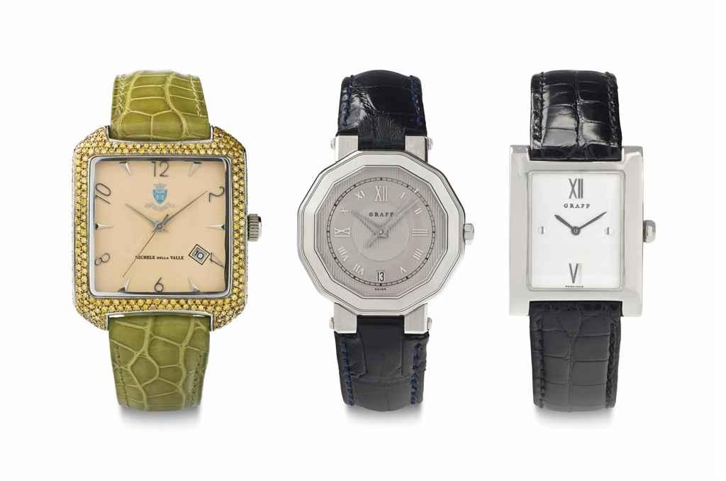 A Lot of Three Lady's Quartz Watches