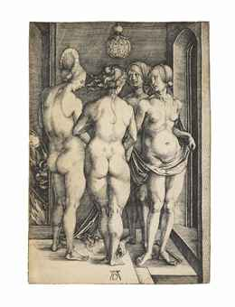 Four naked Women (B. 75; M., Holl. 69; S.M.S. 17)