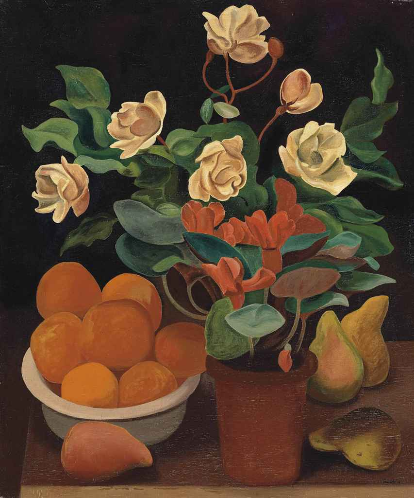 Auguste herbin 1882 1960 fleurs et fruits christie 39 s for Auguste herbin